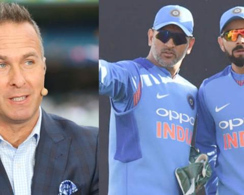 Michael Vaughan Names The Better India Captain Between MS Dhoni And Virat Kohli