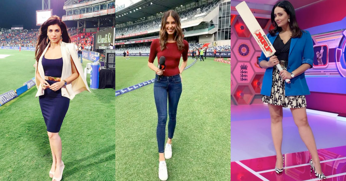 10 Hottest Female Cricket Anchors