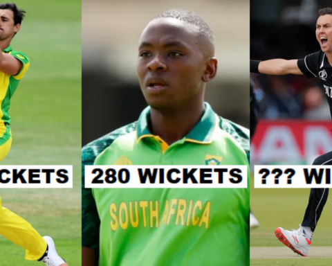 Bowlers With Most Wickets In International Cricket In The Last 5 Years
