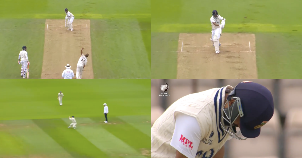 ICC WTC Final: Neil Wagner Dismisses Ajinkya Rahane With The Short-Pitch Ploy For 49 - Watch Video