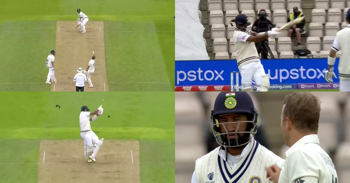 Watch: Neil Wagner Breaks The Soft Protection Of Cheteshwar Pujara's Helmet With A Vicious Bouncer