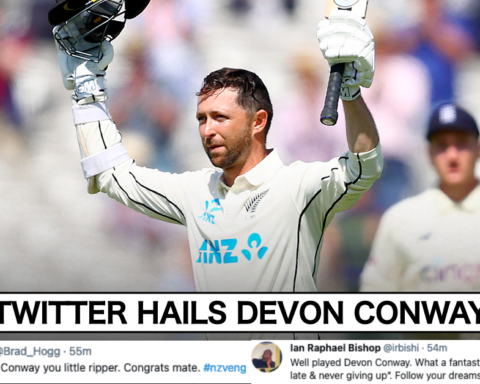 Twitter Erupts As New Zealand Opener Devon Conway Smashes Double-Century On Test Debut At The Lord's