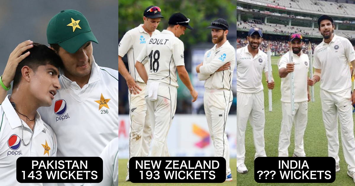 ICC World Test Championship 2019-21: Team-Wise Most Wickets Taken In The Tournament
