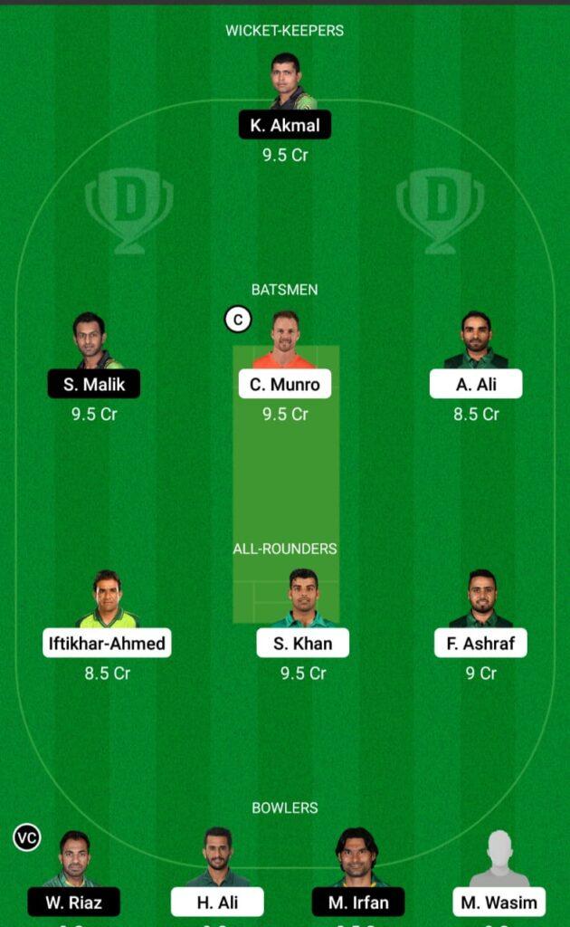 ISL vs PES Dream11 Prediction Fantasy Cricket Tips Dream11 Team Pakistan Super League