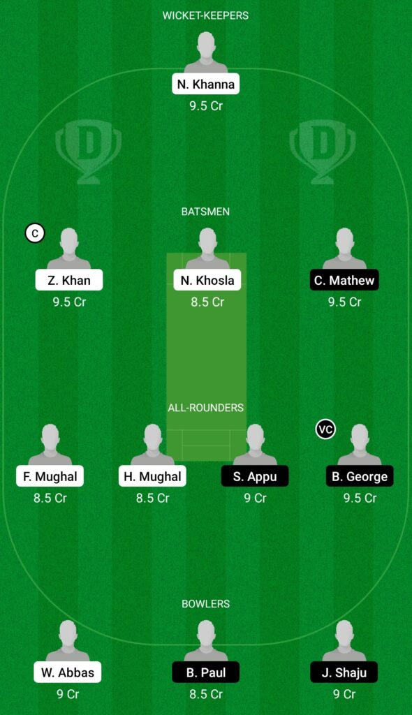 MAR vs AUK Dream11 Prediction Fantasy Cricket Tips Dream11 Team ECS T10 Malta