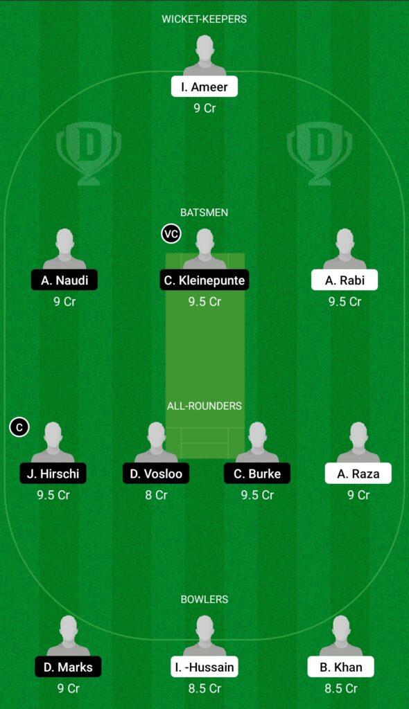SWU vs OVR Dream11 Prediction Fantasy Cricket Tips Dream11 Team FanCode ECS T10 Malta