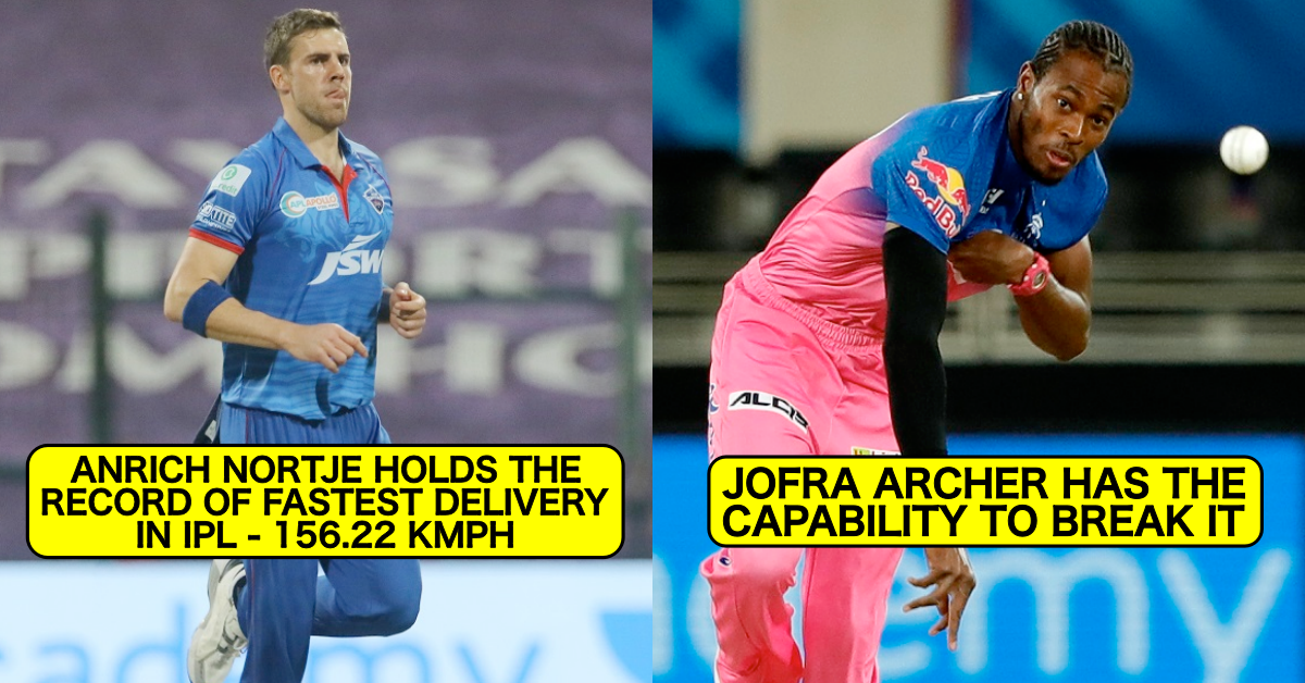 IPL 2021: 5 Bowlers Who Can Break Anrich Nortje's Record Of Fastest Delivery In The History Of Tournament