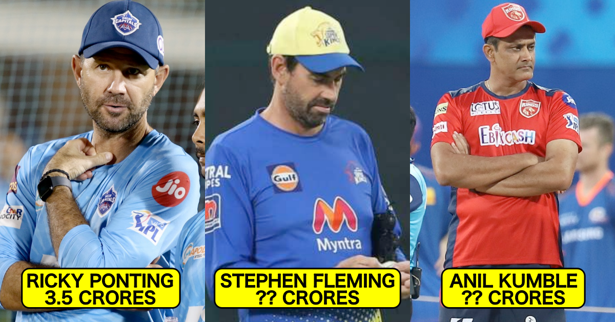 IPL 2021: Salaries Of Coaches Of All 8 Teams Revealed