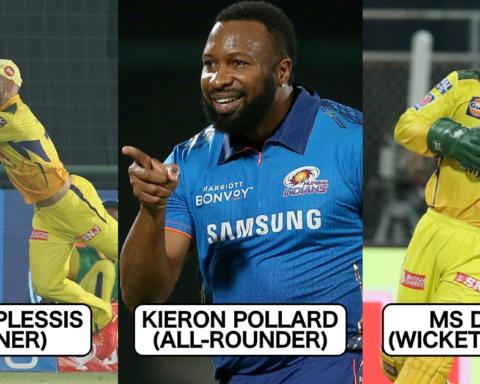 IPL 2021: The Best Fielders XI In The Tournament