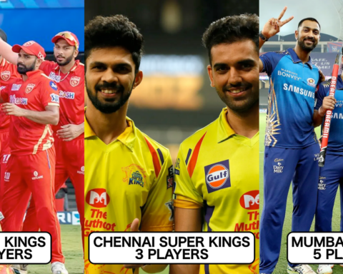 IPL Team Wise Number Of Players Included In India's ODI & T20I Squad For Sri Lanka Tour