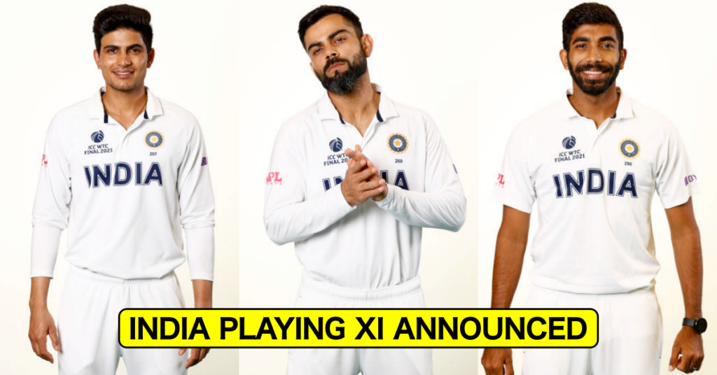 India, BCCI, India Playing XI, India Playing XI for WTC final, WTC, World Test Championship, World Test Championship Final