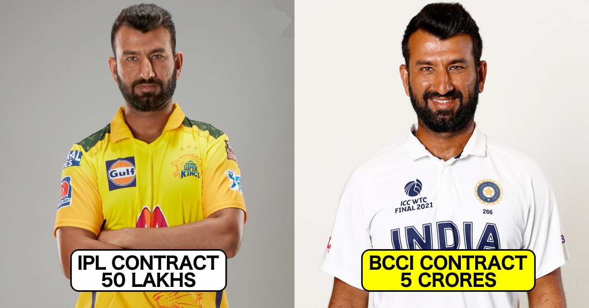 Indian Players Whose BCCI Central Contract Is Higher Than That Of Their Current IPL Contract