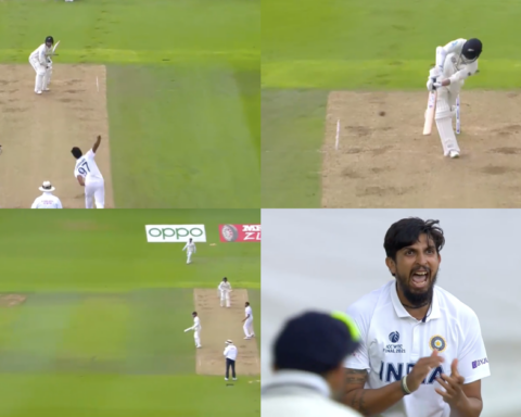Watch: Ishant Sharma Delivers An Important Breakthrough Late In The Day As Devon Conway Perishes For 54