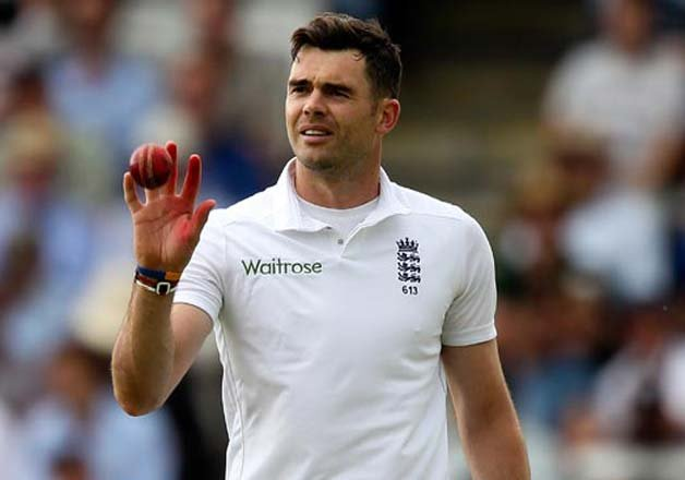 James Anderson, England Fast Bowler