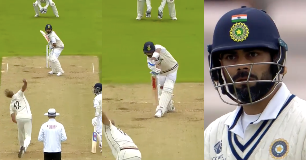 ICC WTC Final: Kyle Jamieson Traps Virat Kohli Plumb In Front With A Vicious Inswinger - Watch Video