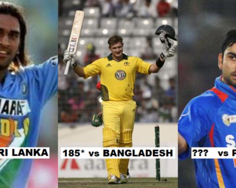 5 Highest ODI Individual Score In A Successful Run Chase