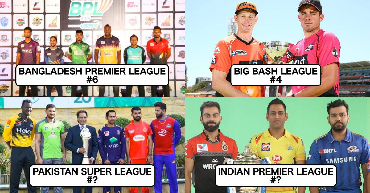 Ranking All Flagship T20 Leagues Around The World