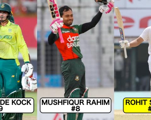 Ranking Top 10 Current All-Format Batsmen In International Cricket
