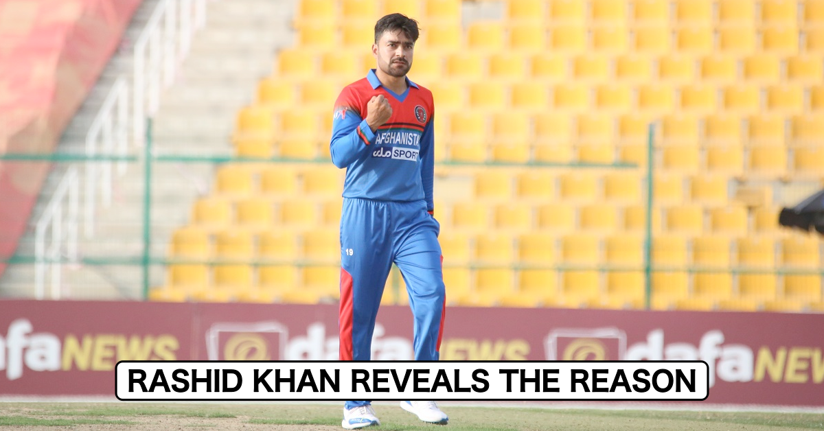 Rashid Khan Reveals Why He Declined To Lead Afghanistan In T20Is