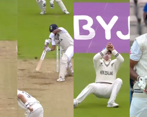 Watch: Tim Southee Gets His First Wicket As Ravichandran Ashwin Goes After Tom Latham Takes His Third Catch Of The Morning