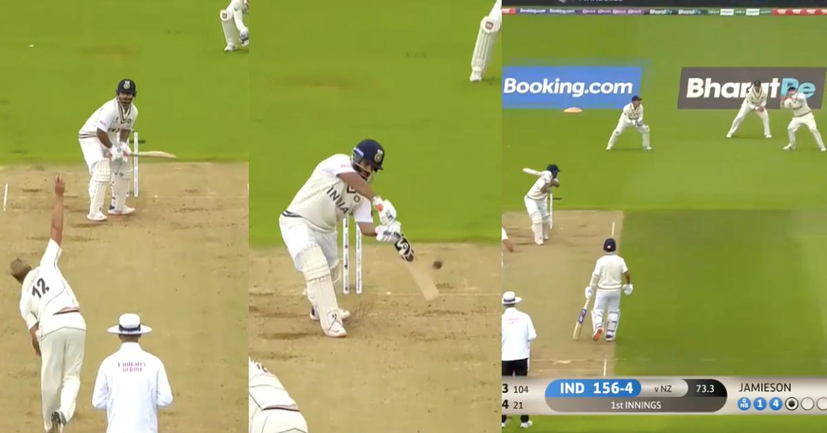 ICC WTC Final: After Virat Kohli, Kyle Jamieson Removes Rishabh Pant Cheaply - Watch Video