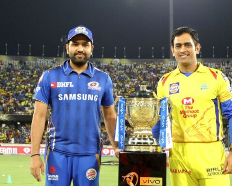 Rohit Sharma and Chennai Super Kings During IPL 2019 Final