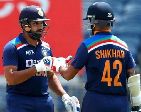 Indian Opener Rohit Sharma and Shikhar Dhawan