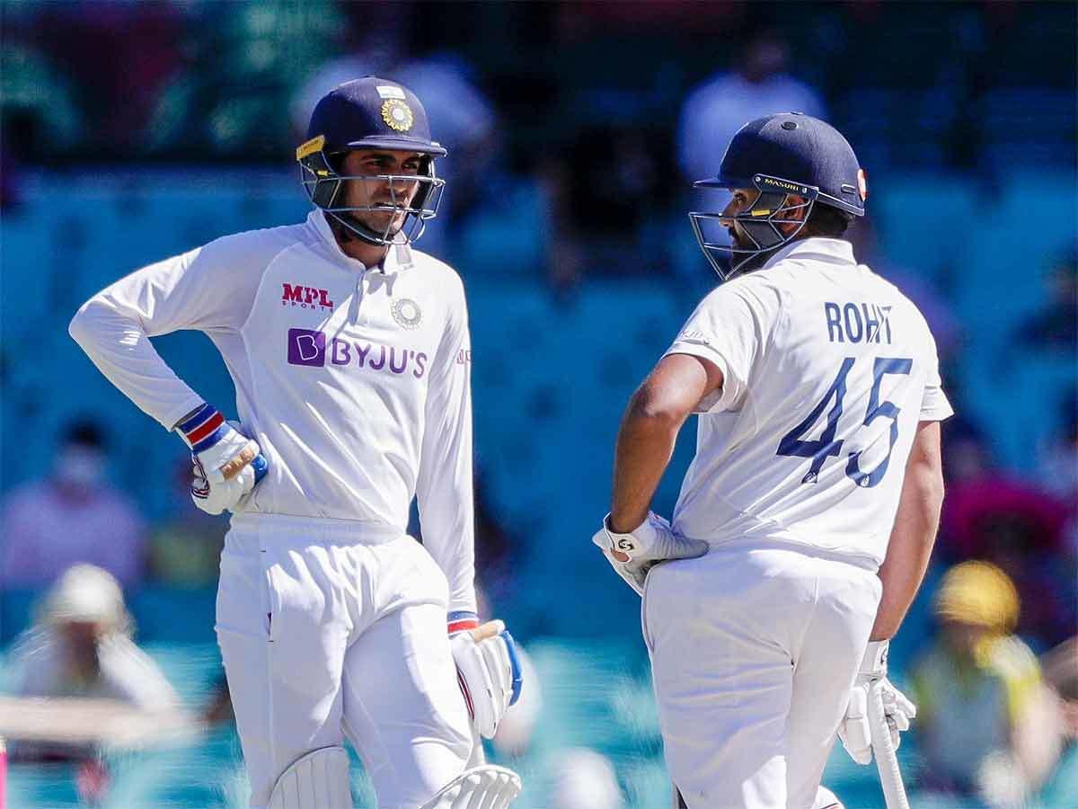 Shubman Gill And Rohit Sharma