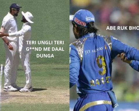 Instances When Players Fought With Their Own Teammates On Field In Cricket (Watch Videos)