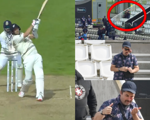 Watch: Tim Southee Injures Fan With His Six On Day 5 Of The ICC WTC Final