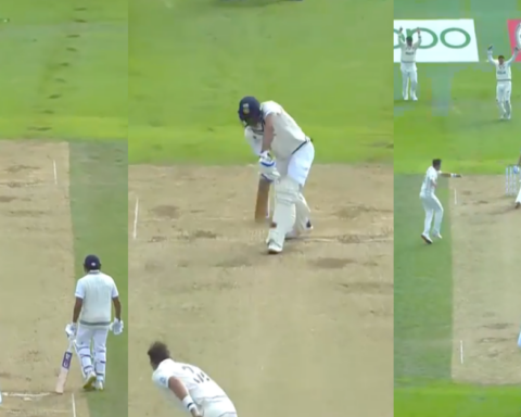 Watch: Tim Southee Strikes First Blood; Pings Shubman Gill Plumb On Front
