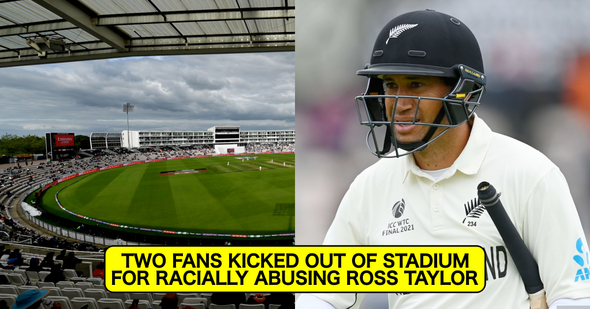 ICC WTC Final 2021: Two Individuals Thrown Out Of The Stadium For Hurling Racial Abuse At Ross Taylor And Other New Zealand Players