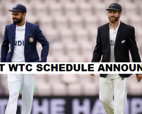India's Schedule For The Next WTC Cycle Announced