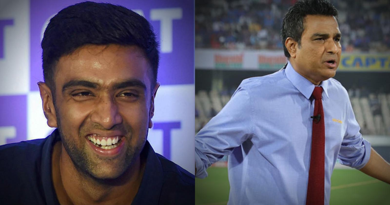 """संजय मांजरेकर के कहने के बाद रविचंद्रन अश्विन ने दिया जवाब """"ऑल-टाइम ग्रेट"""""""