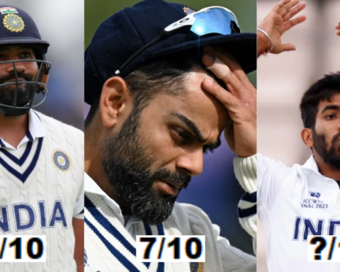 WTC Final: Performance Rating Of India XI In The Final