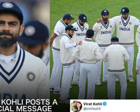 Virat Kohli Tweets After WTC Final Loss