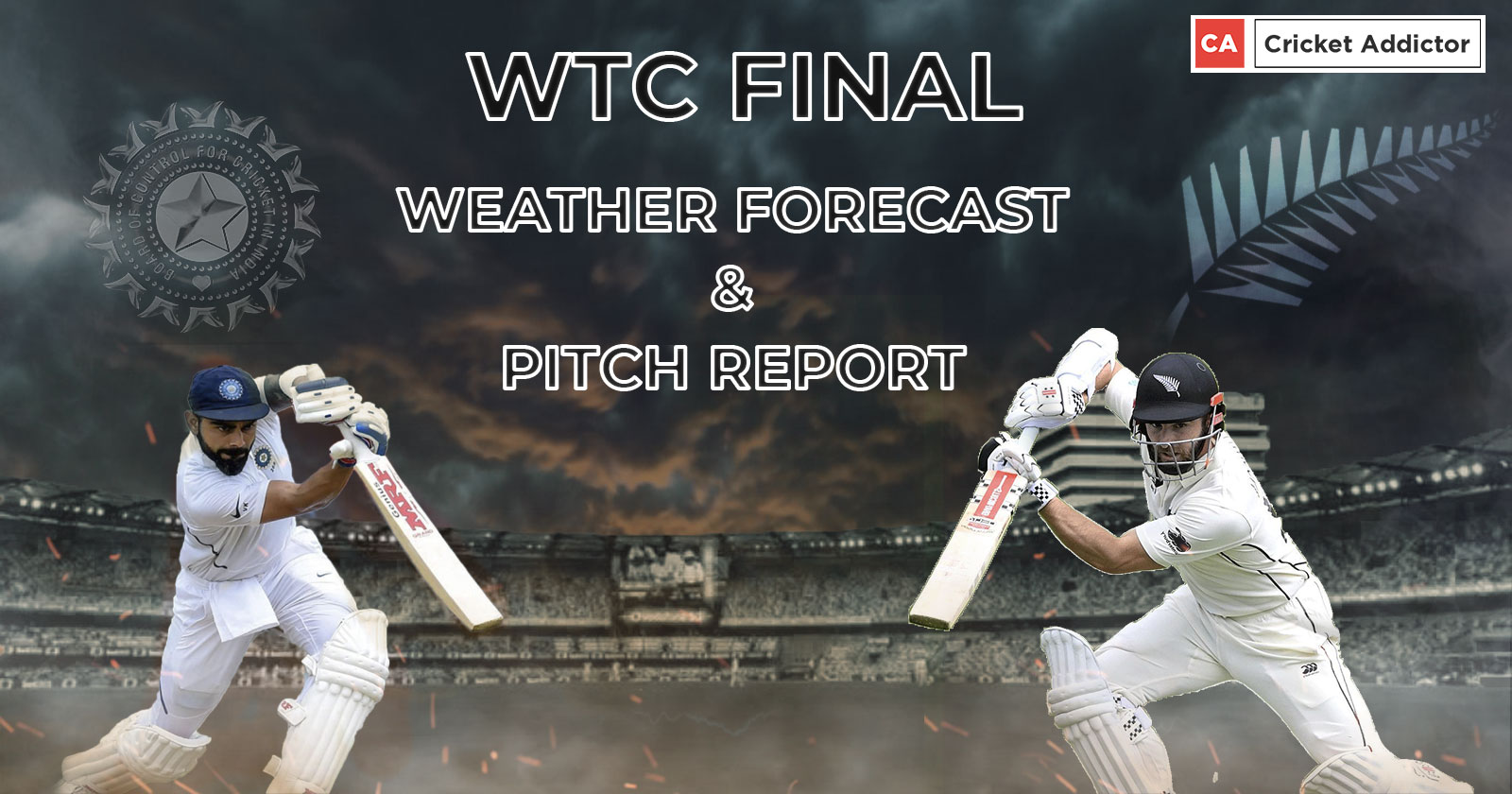 India vs New Zealand WTC Final: Weather Forecast And Pitch Report