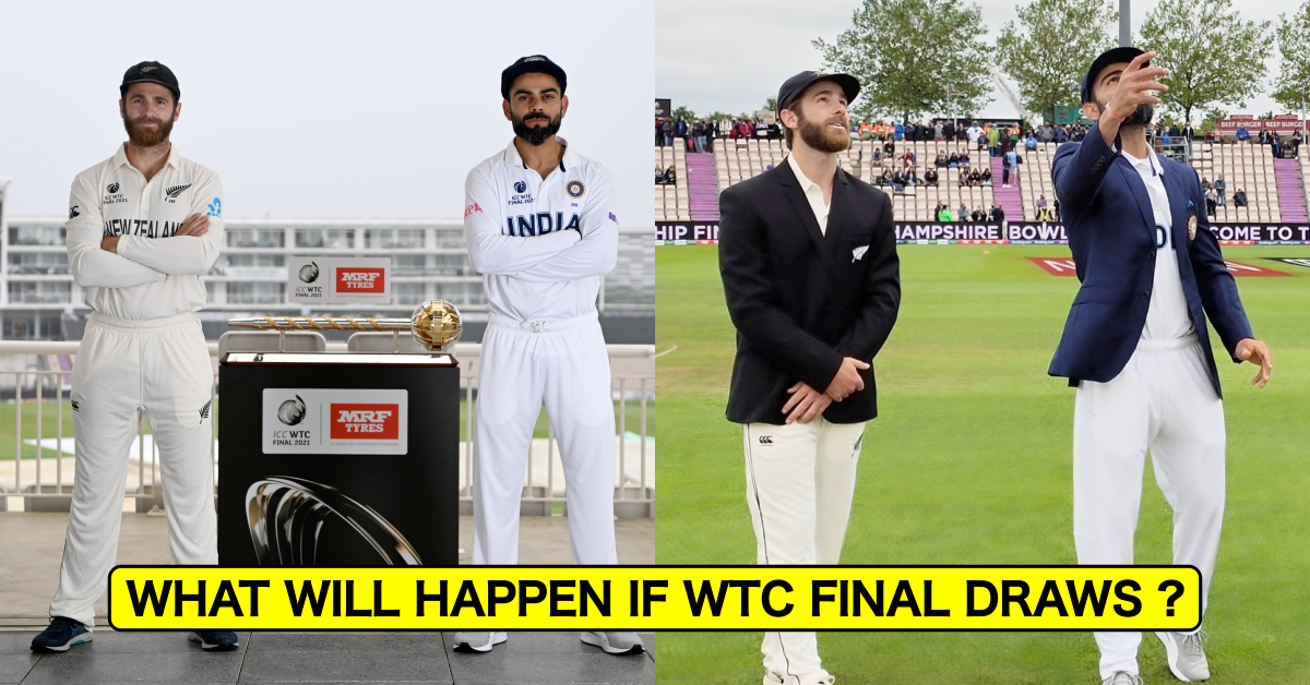 What Will Happen If WTC Final Draws ?