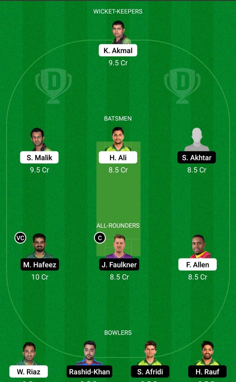 PES vs LAH Dream11 Prediction Fantasy Cricket Tips Dream11 Team Pakistan Super League