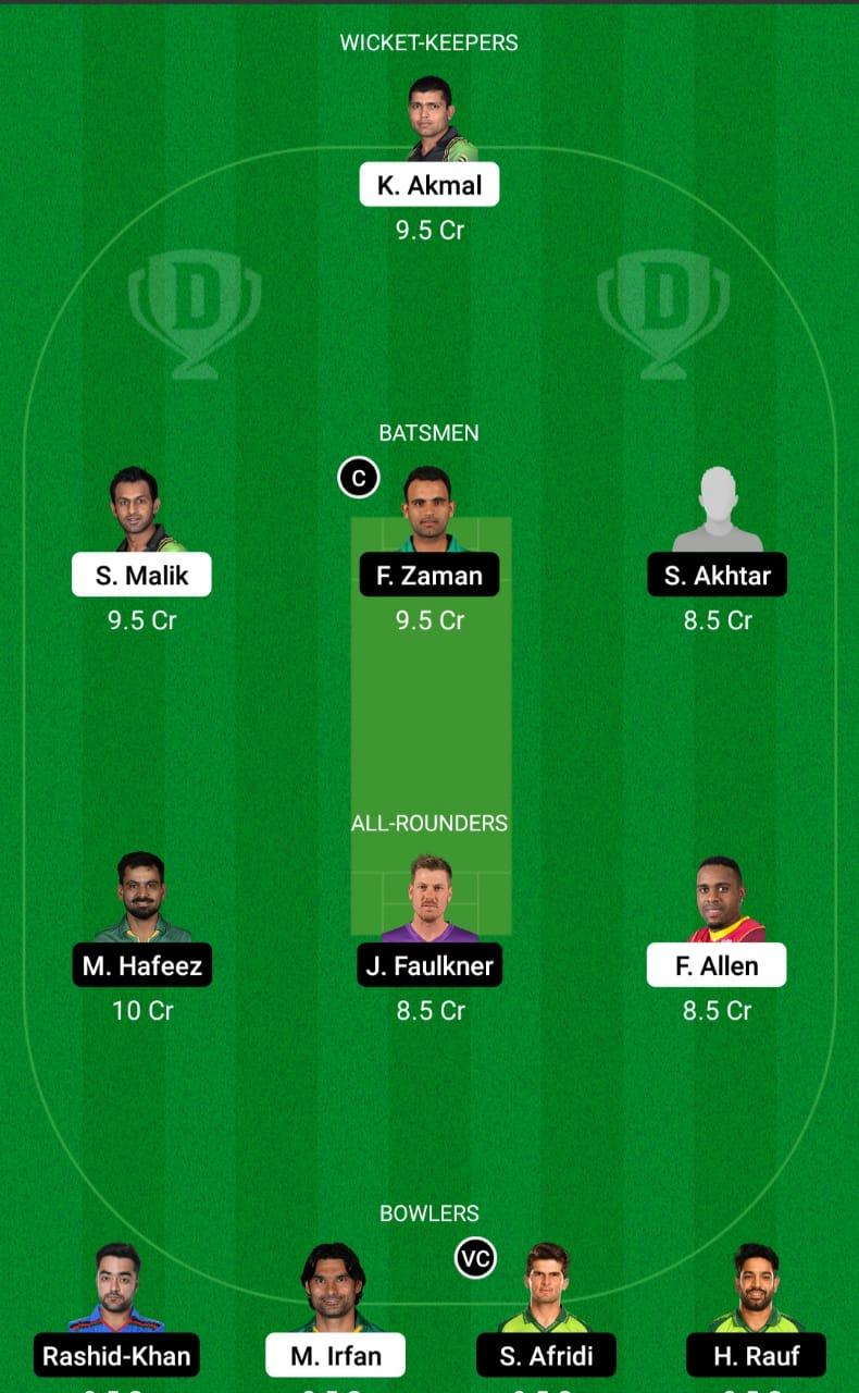 PES vs LAH ड्रीम11 प्रेडिक्शन फैंटेसी क्रिकेट टिप्स ड्रीम11 टीम पाकिस्तान सुपर लीग