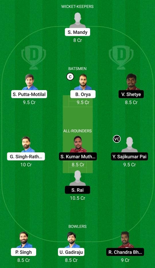 एमटीवी बनाम वीएफबी ड्रीम11 प्रेडिक्शन फैंटेसी क्रिकेट टिप्स ड्रीम11 टीम ईसीएस टी10 कील