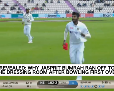 ICC WTC Final: Here's Why Jasprit Bumrah Ran Off To Dressing Room After Bowling First Over On Day 5