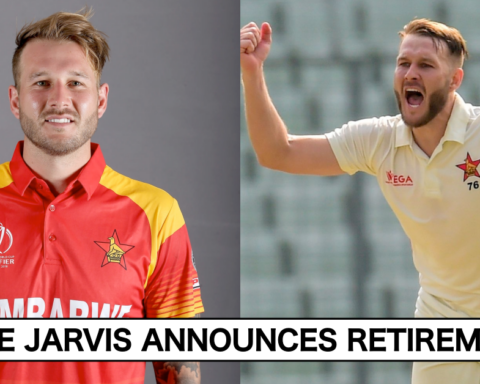 Zimbabwe's Kyle Jarvis Announces Retirement From All Forms Of Cricket