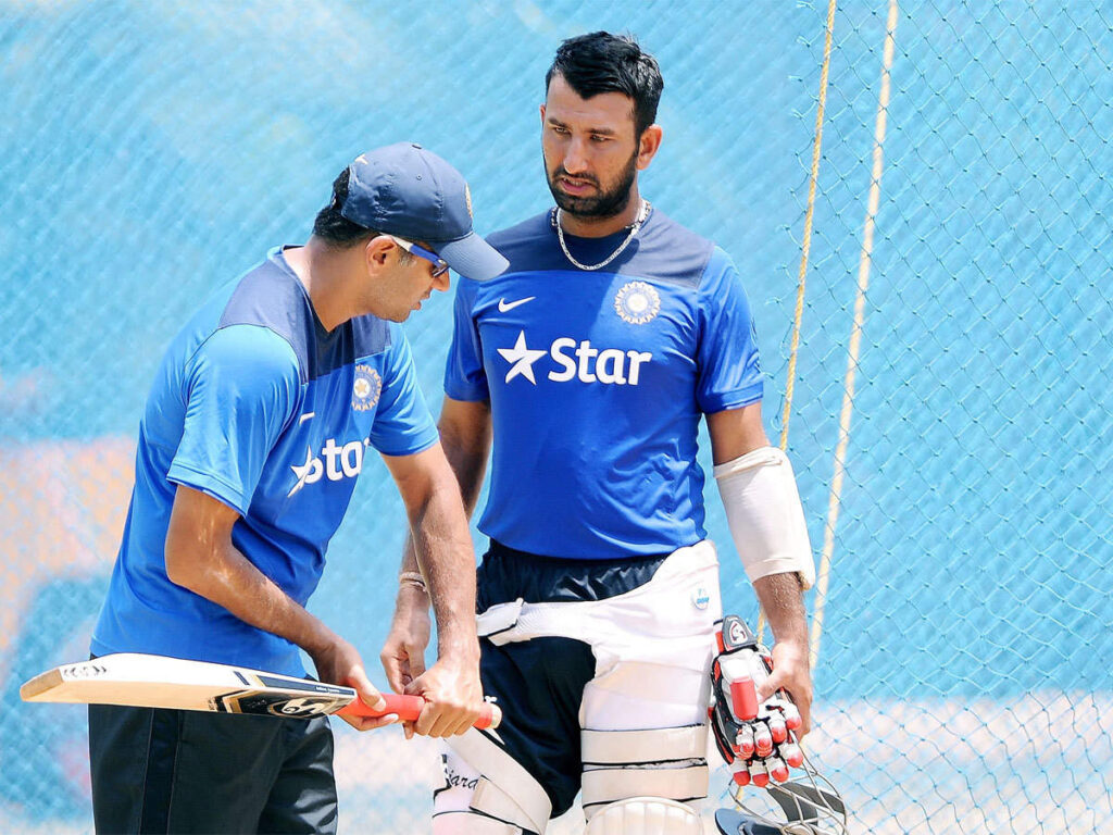 Cheteshwar Pujara Feels Rahul Dravid Is One Of The Best Choices To Become India's Head Coach
