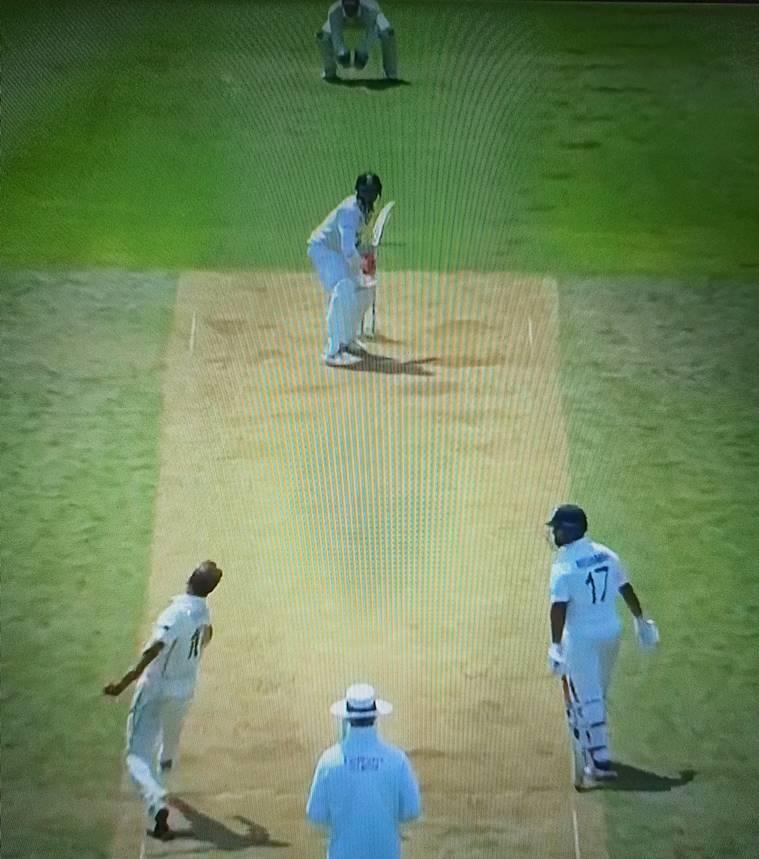 Neil Wagner bowling to Ravindra Jadeja (Photo-Screengrab)