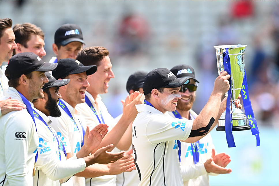 New Zealand, India, ICC Test Rankings