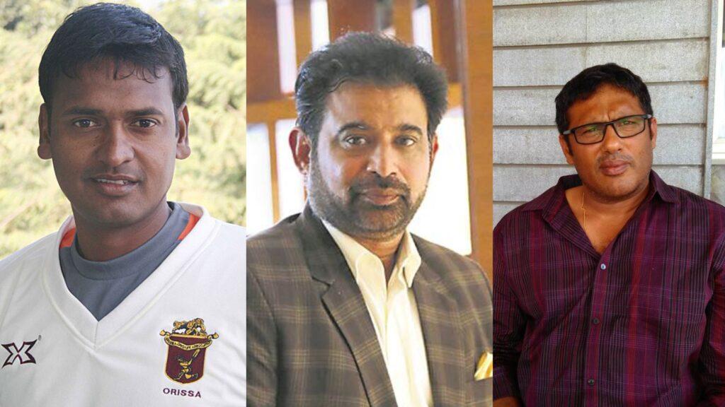 Debasis Mohanty, Abey Kuruvilla, and Chetan Sharma (Photo- Twitter)