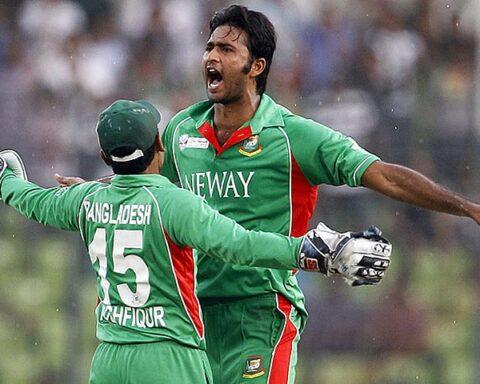 Shahadat Hossain of Bangladesh (Photo-Twitter)