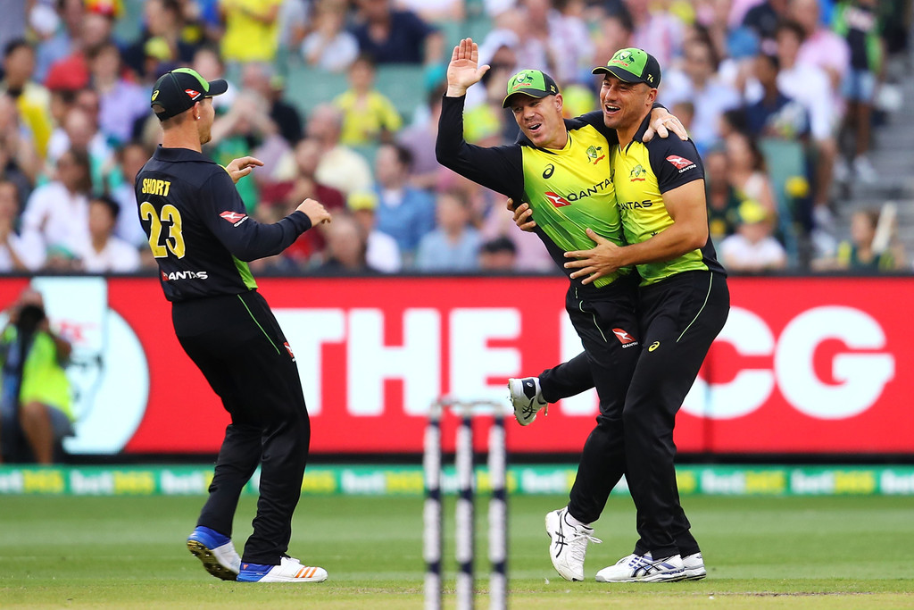 David Warner,Marcus Stoinis, D'Arcy Short
