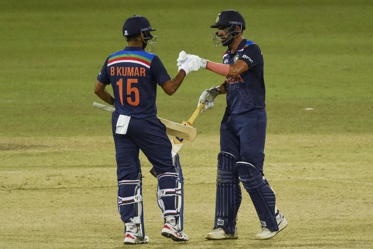Bhuvneshwar Kumar and Deepak Chahar